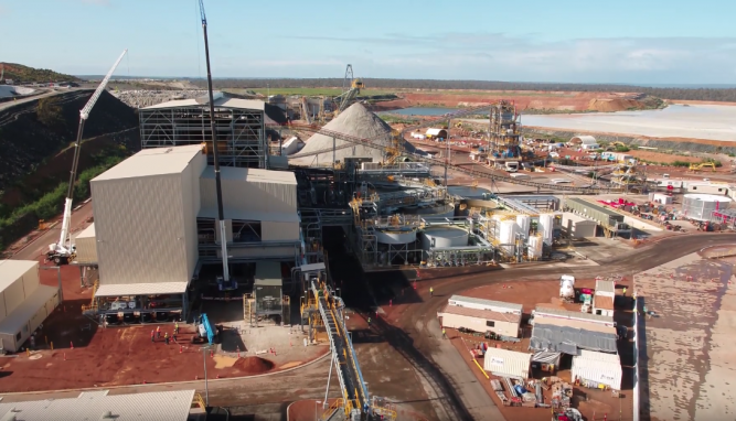 化学级氧化锂选矿厂